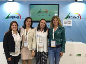 EVA en la Aeroespace & Defense Meetings de Sevilla 2