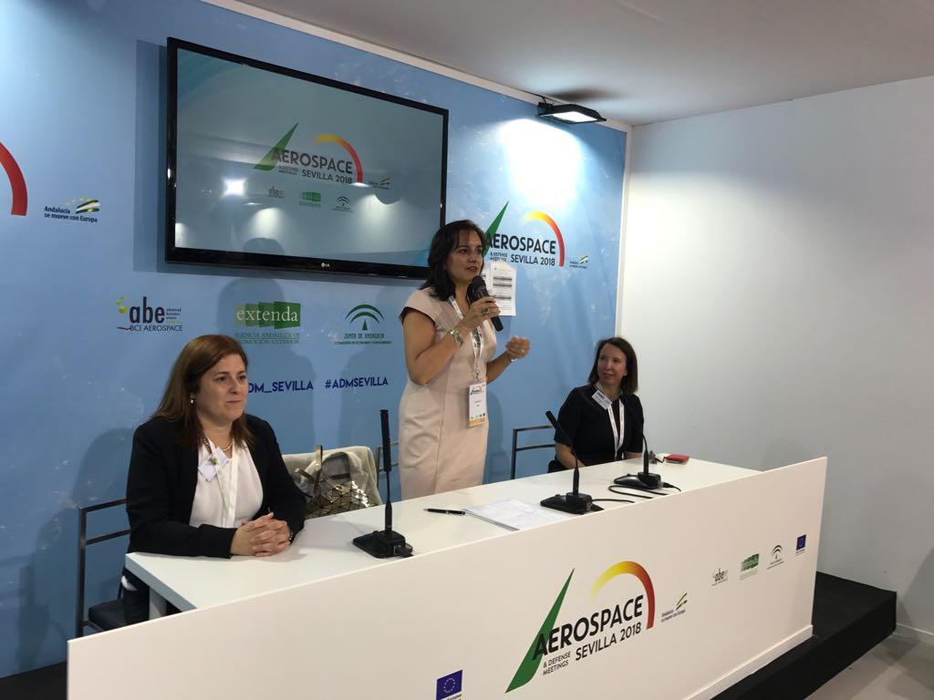 EVA en la Aeroespace & Defense Meetings de Sevilla