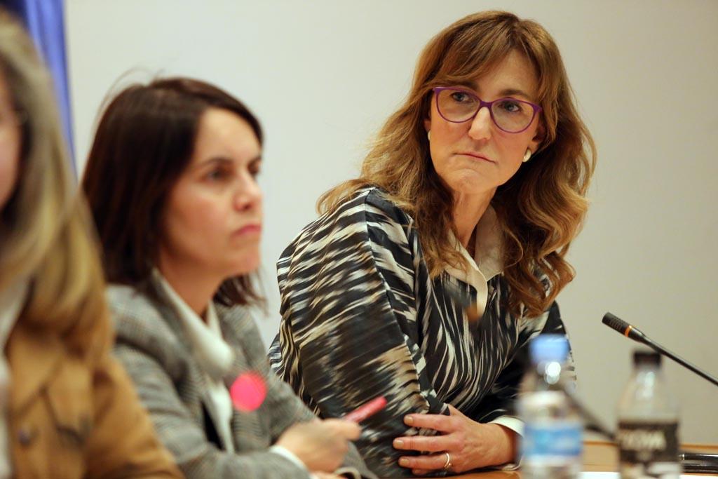 A la izquierda, Patricia Argeray, directora de innovación de la Xnta, junta a Silvia Lazcano.