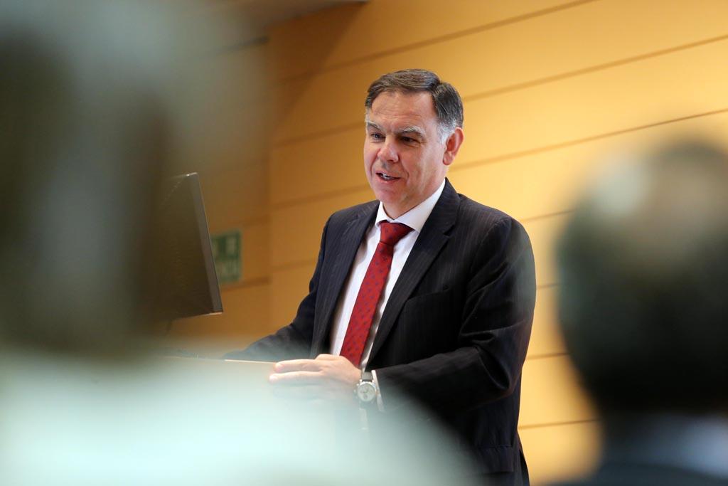 El director general del CDTI, Javier Ponce, anfitrión de esta jornada.