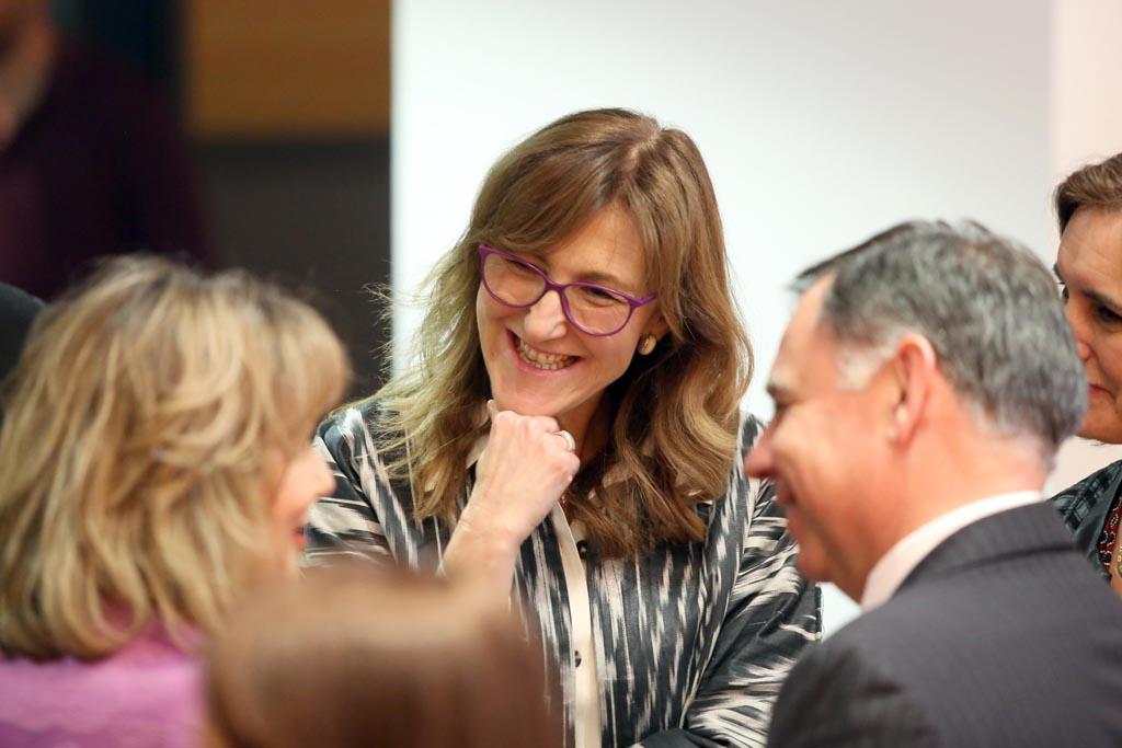 Silvia Lazcano, una de las ponentes.